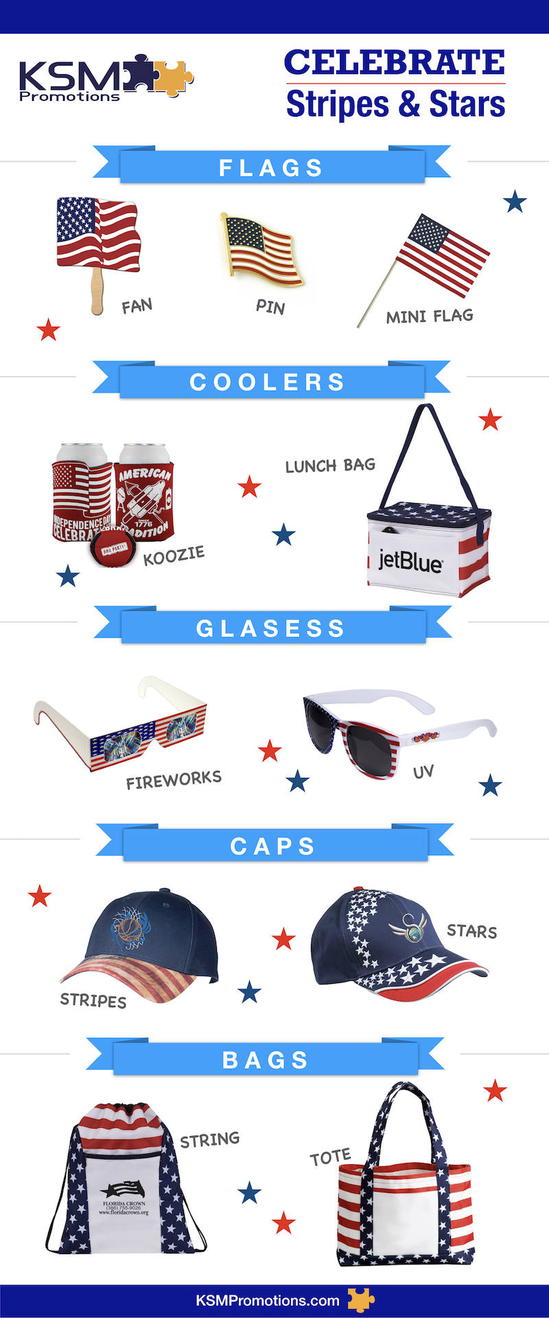 american flag patriotic promotional products