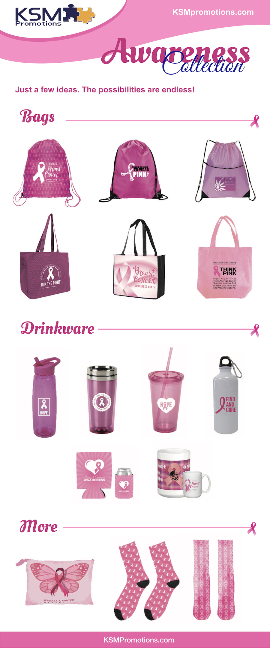 breast cancer awareness custom merchandise