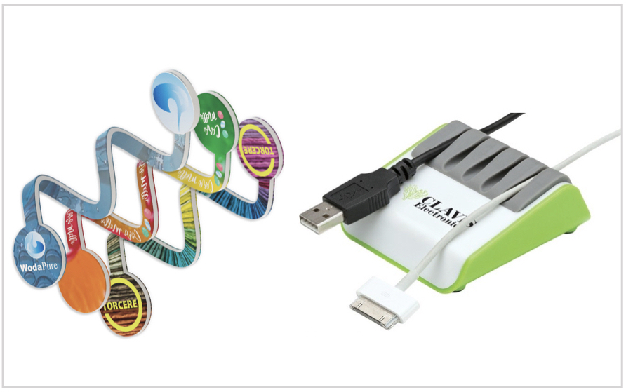 branded cable organizer