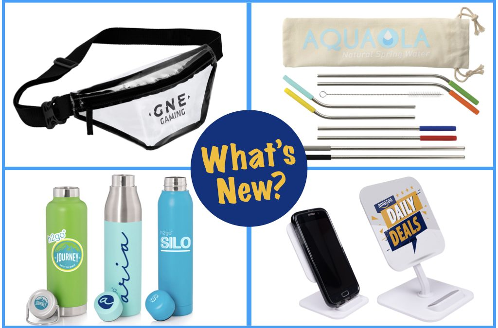 Customized Fanny Packs, Reusable Straws, Hot Promotional Items