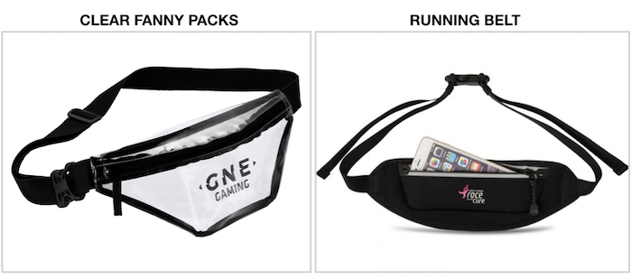 custom fanny packs