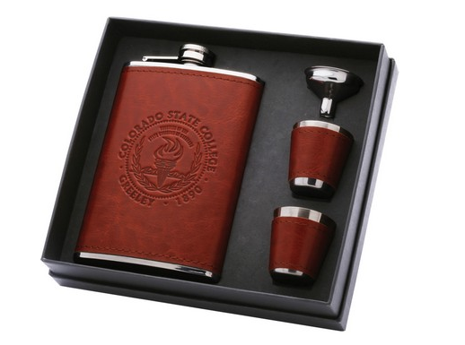 custom branded flasks