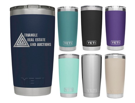 custom printed Yeti tumblers